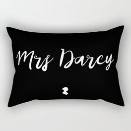 MRS DARCY Rectangular Pillow
