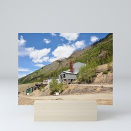 The Mayflower/Shenandoah-Dives Mill of the Colorado Gold and Silver Rush Mini Art Print