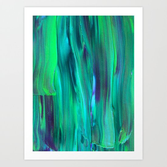 Abstract Painting 29 Art Print