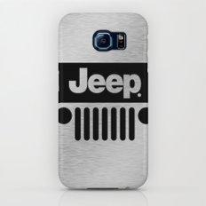 Jeep Steel Chrome Galaxy S7 Slim Case
