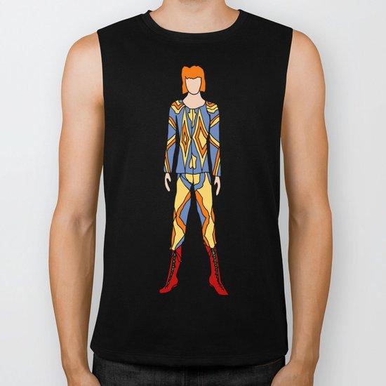 Bowie Fashion 1 Biker Tank