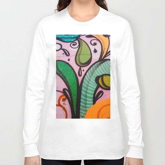 Colors at the wall Long Sleeve T-shirt