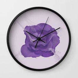 Rose Smoke Wall Clock