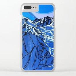 Pemberton Ice Field Clear iPhone Case