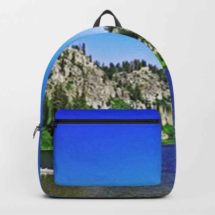 Lake Blue Backpack