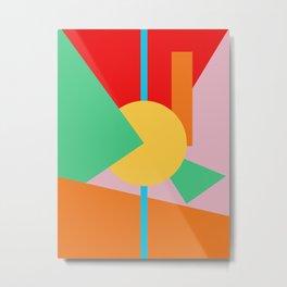 Circle Series - Summer Palette No. 4 Metal Print