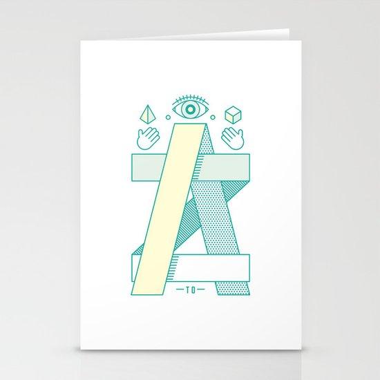 A to Z Stationery Cards