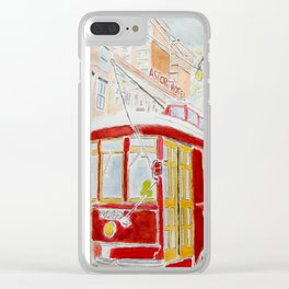 New Orléans Tramway Clear iPhone Case