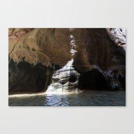 Strange Places (Zion National Park, Utah) Canvas Print