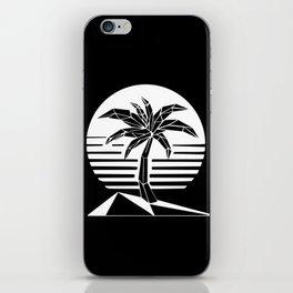 New Retro Palm iPhone Skin