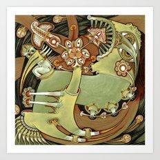 Circulation Art Print