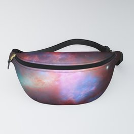 887. Great Observatories Present Rainbow of a Galaxy Fanny Pack
