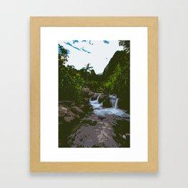 I'ao Valley - Photoart Framed Art Print