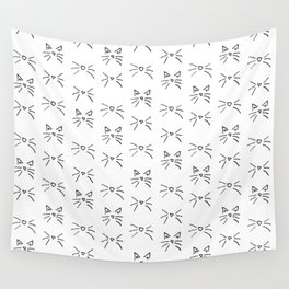Kitty Whiskers Wall Tapestry