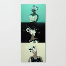 Mirrored Trio Canvas Print