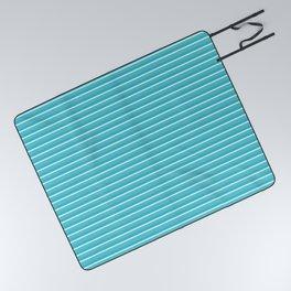 Lemoncello Striped Picnic Blanket