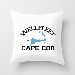 Wellfleet, Cape Cod Throw Pillow