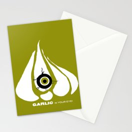 Garlic in your Eye! Granny Spell by Winter Things Stationery Cards