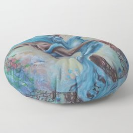 Land and Sea Floor Pillow
