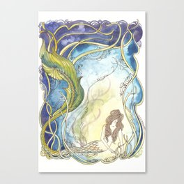 Undine Canvas Print