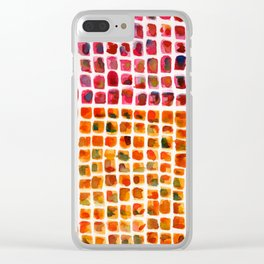 Imperfection Clear iPhone Case
