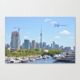 The Marina View Canvas Print