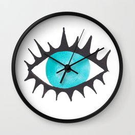 Evil Eye IV Wall Clock