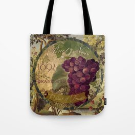 Wines of France Pinot Noir Tote Bag