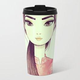 Japan Girl Travel Mug