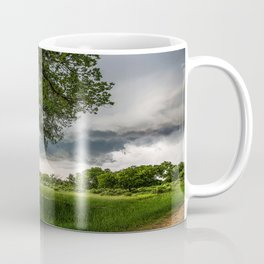 Big Tree - Tall Cottonwood and Passing Storm in Texas Coffee Mug
