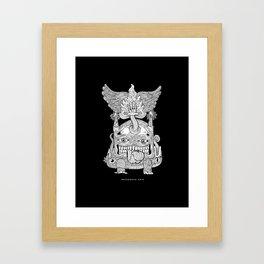 TOTEM - KNOCKOUT Framed Art Print
