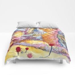 wax water drawing Comforters