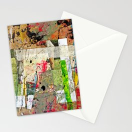 Rolled Gold Stationery Cards