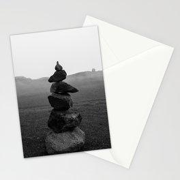 Balance and Rocks  Stationery Cards