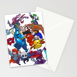 Indie Smash Bros Ultimate Stationery Cards