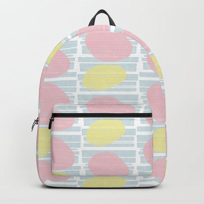 Pastel Vibes #society6 #abstractart Rucksack