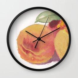 Peachy Wall Clock