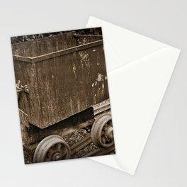 Mine Cart Stationery Cards