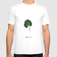# Breathe Mens Fitted Tee White MEDIUM