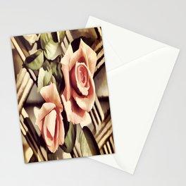 Vintage Rose Garden - Painterly Stationery Cards