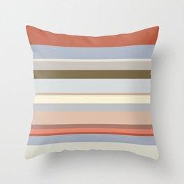 Lines   Stonework Throw Pillow