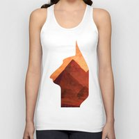 egypt Tank Tops featuring Egypt by Mehdi Elkorchi