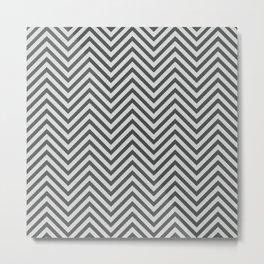 Chevron Metal Print