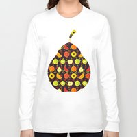 fruit Long Sleeve T-shirts featuring FRUIT by badOdds