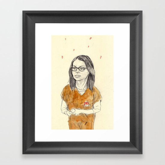 Alex Vause Framed Art Print