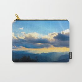 Golden sunset in the Blue Ridge Carry-All Pouch