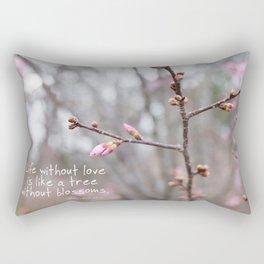 Life without love... Rectangular Pillow