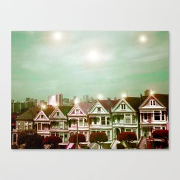 Painted Ladies - remix Canvas Print