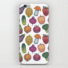 Vitamins - white iPhone & iPod Skin