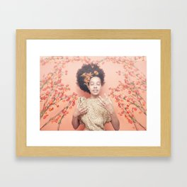 Crown & Glory - (Valentine's Day Discount) Framed Art Print